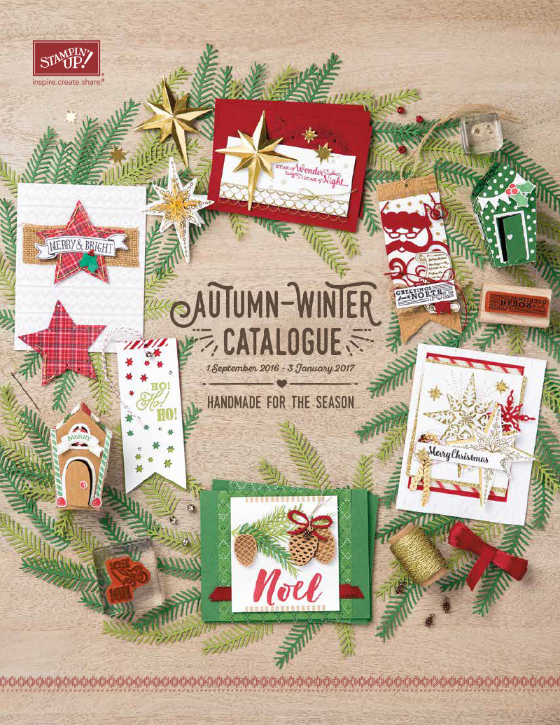 Stampin' Up! Winter Catalogue 2016